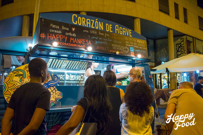 Happy Food Trucks / Manresa / Corazón de Agave