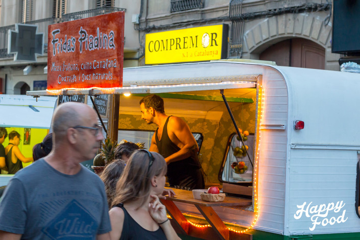 Happy Food Trucks / Manresa / Frida's Piadina